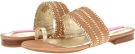 Rustic Tan/Gold Isaac Mizrahi New York Bailey for Women (Size 7)
