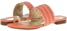 Coral/Gold Isaac Mizrahi New York Bailey for Women (Size 7)