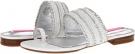 White/Silver Isaac Mizrahi New York Bailey for Women (Size 7)