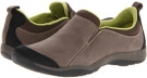 Charcoal Suede Clarks England Verdict Green for Women (Size 5.5)