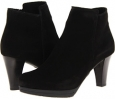 Black Suede La Canadienne Martina for Women (Size 5)