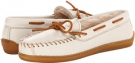 Minnetonka Lined Leather Boat Moc Size 8