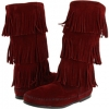Calf Hi 3-Layer Fringe Boot Women's 7