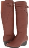 Rust Brown Water Resistant Everest Softspots Oliva for Women (Size 7)
