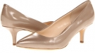 Latte Pearl Patent Leather Isola Suri for Women (Size 7)