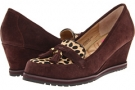 Brown Suede/Black & Brown Haircalf Isaac Mizrahi New York Napleslee for Women (Size 7)