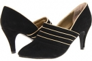 Black Split Suede Leather Fitzwell Sienna for Women (Size 5)