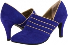 Dark Blue Split Suede Leather Fitzwell Sienna for Women (Size 5)