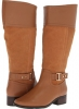 Taupe Leather/Taupe Suede Fitzwell Mesquite Wide Calf for Women (Size 5)