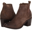 Dark Taupe Waxy Suede Diesel Chelsea Show Pinky Bootie for Women (Size 6)