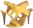 Yellow Nubuck Nine West Bezel for Women (Size 7)