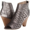 Pewter Leather Steven Cammii for Women (Size 7.5)