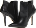 Black Leather Steven Marshha for Women (Size 7)