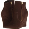 Brown Distress Steven Meter for Women (Size 7)