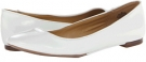 White Patent Synthetic Nine West Widgeon for Women (Size 7)