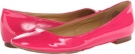 Pink Patent Synthetic Nine West Widgeon for Women (Size 7)