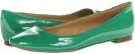 Green Patent Synthetic Nine West Widgeon for Women (Size 7)