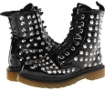 Black Crinkle Patent Amiana 15-A5253 for Kids (Size 6)