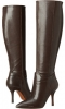 Dark Brown Leather Nine West Getta for Women (Size 5)