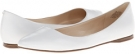White Leather Nine West SpeakUp for Women (Size 7)