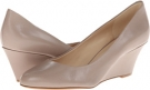 Taupe Leather Leather Nine West Mela for Women (Size 7)