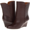 Dark Brown Leather Nine West Zavgy for Women (Size 7)
