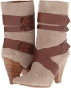 Taupe/Brown Suede Nine West Tairette for Women (Size 9)