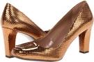 Bronze Metallic Franco Sarto Ursa for Women (Size 7)