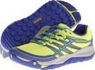 High Viz/Blue Merrell Allout Rush for Women (Size 5)
