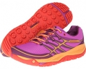 Purple/Grenadine Merrell Allout Rush for Women (Size 5)