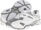 White/White/Metallic Silver Fila Sentinel for Women (Size 7)