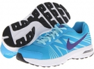 Vivid Blue/Glacier Ice/White/Court Purple Nike Air Futurun 2 for Women (Size 5.5)