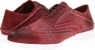 Red Suede Hush Puppies FIVE-Brogue for Men (Size 11)