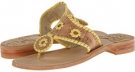 Cork/Buttercup Jack Rogers Palermo for Women (Size 5)