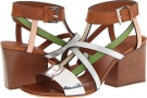 Multi Strap Leather Sandal Women's 7