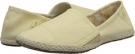 Yellow/Tan Ocean Minded Espadrilla Slip-On for Women (Size 7)