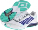 White/Spectrum Blue/Electric Green PUMA Powertech Defier SL for Women (Size 7)