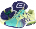 Electric Green/Sunny Lime/Spectrum Blue PUMA PowerTech Voltaic for Women (Size 7)