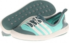 Bahia Mint/Chalk/Vista Green adidas Outdoor Climacool Boat Sleek for Women (Size 5)