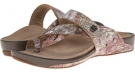 Floral Aetrex Sandalista Kendra Adjustable Gladiator Slip-On for Women (Size 7)