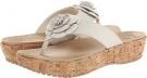 Crocs A-Leigh Flip Flop Flower Size 4