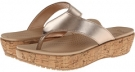 A-Leigh Flip Flop Metallic Leather Women's 4