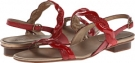Red Nappa/Red Smack Met Patent/Red E-Prt Vaneli Belle for Women (Size 4.5)