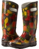 Brown Veggie Multi Bogs Rainboot Veggie for Women (Size 7)