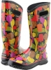 Black Veggie Multi Bogs Rainboot Veggie for Women (Size 7)