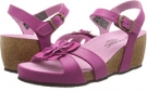 Fuchsia VIONIC with Orthaheel Technology Gibraltar for Women (Size 7)