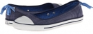Converse Chuck Taylor All Star Dainty Denim Ballerina Slip-On Ox Size 6