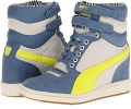 Blue Shadow PUMA Sky Wedge LC Wn's for Women (Size 7)