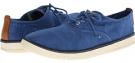 Bright Blue Canvas Timberland Timberland Earthkeepers Hookset Handcrafted 4-Eye Oxford for Men (Size 11.5)