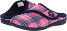 Pink Plaid VIONIC with Orthaheel Technology Shawn Slipper for Women (Size 7)